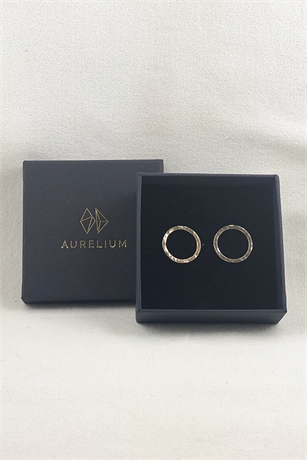Aurelium Dimple Circle Earring-accessories-KILTonline